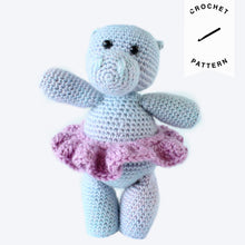 Load image into Gallery viewer, Holly the Hippo - Crochet Pattern