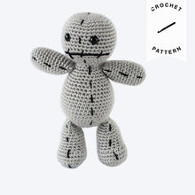 Load image into Gallery viewer, Scrap the Voodoo Doll - Crochet Pattern