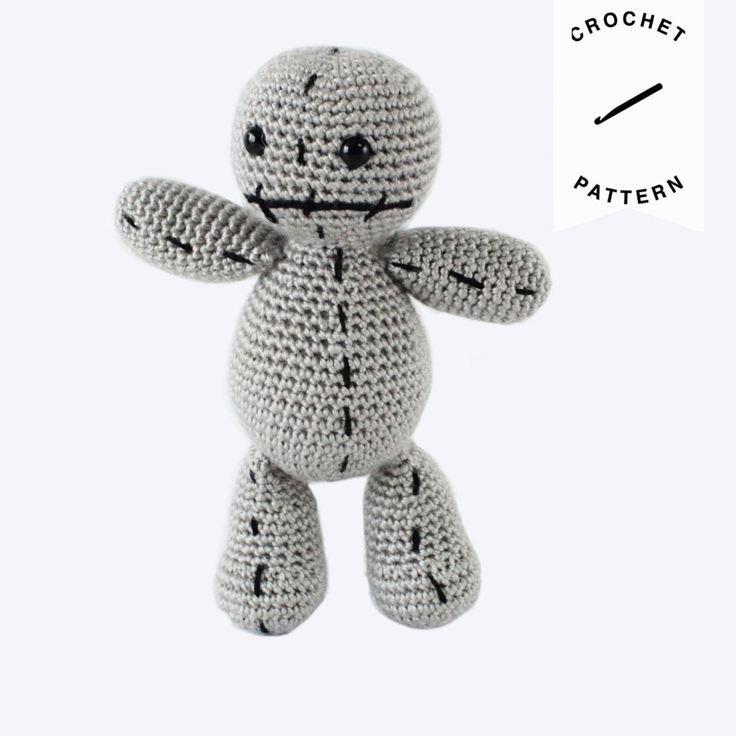 Scrap the Voodoo Doll - Crochet Pattern