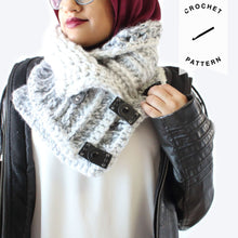 Load image into Gallery viewer, Stormborn Crochet Cowl - Crochet Pattern
