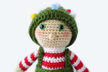 Load image into Gallery viewer, Ollie the Elf Plush - Crochet Pattern