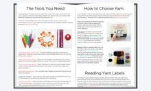 Load image into Gallery viewer, Crochet Ebook: The Beginner's Guide to Crochet