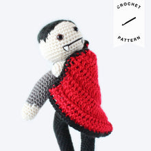 Load image into Gallery viewer, Viktor the Vampire - Crochet Pattern