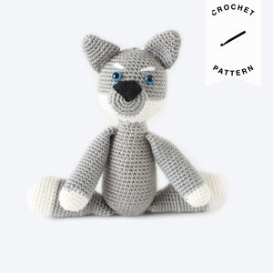 Remus the Wolf Pup - Crochet Pattern