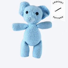 Load image into Gallery viewer, Evelyn the Elephant - Crochet Pattern