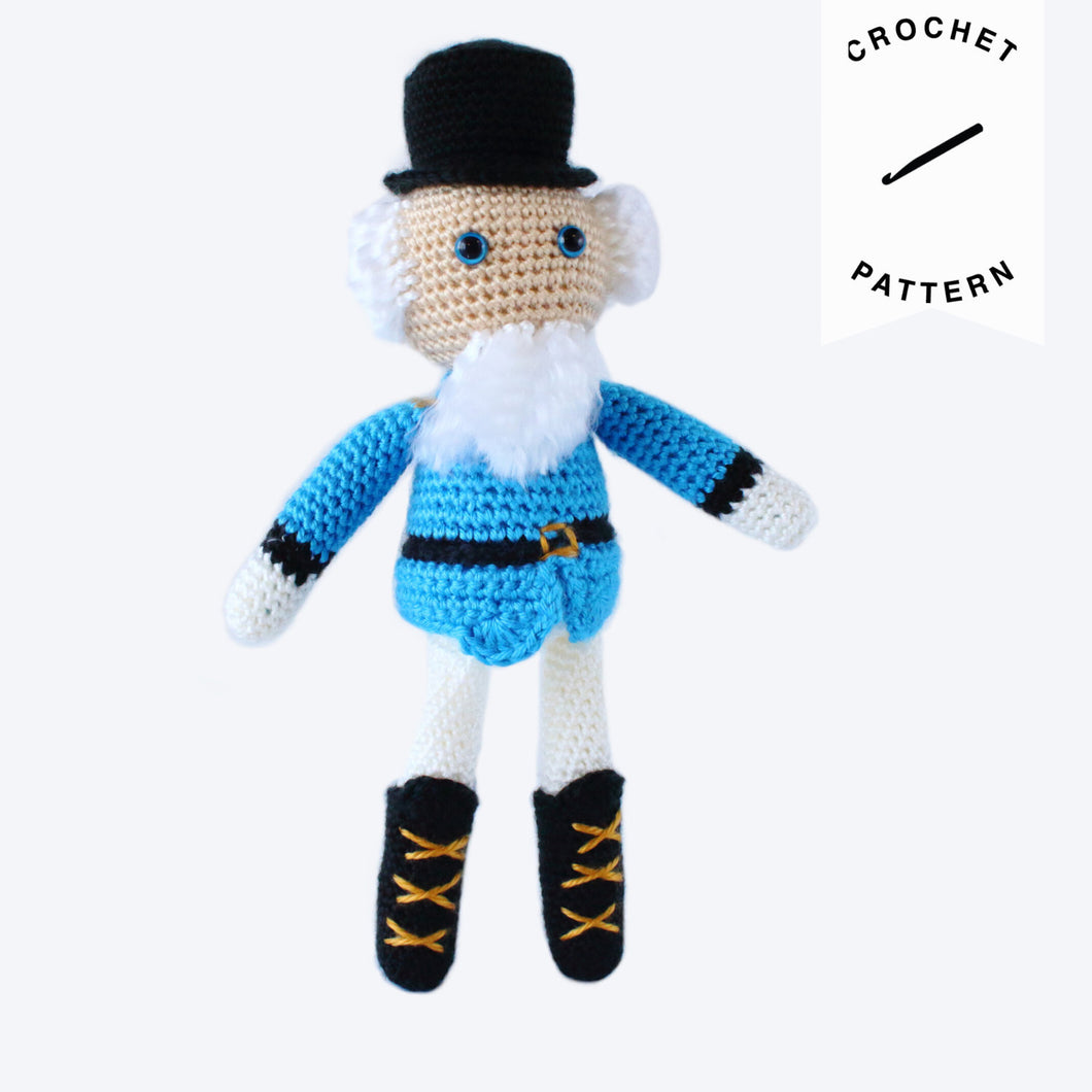 Nutcracker Plushie - Crochet Pattern