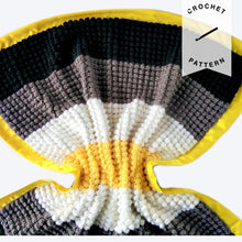 Load image into Gallery viewer, Bright Stars Baby Blanket - Crochet Pattern