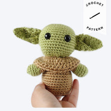 Load image into Gallery viewer, Baby Yoda - Crochet Pattern