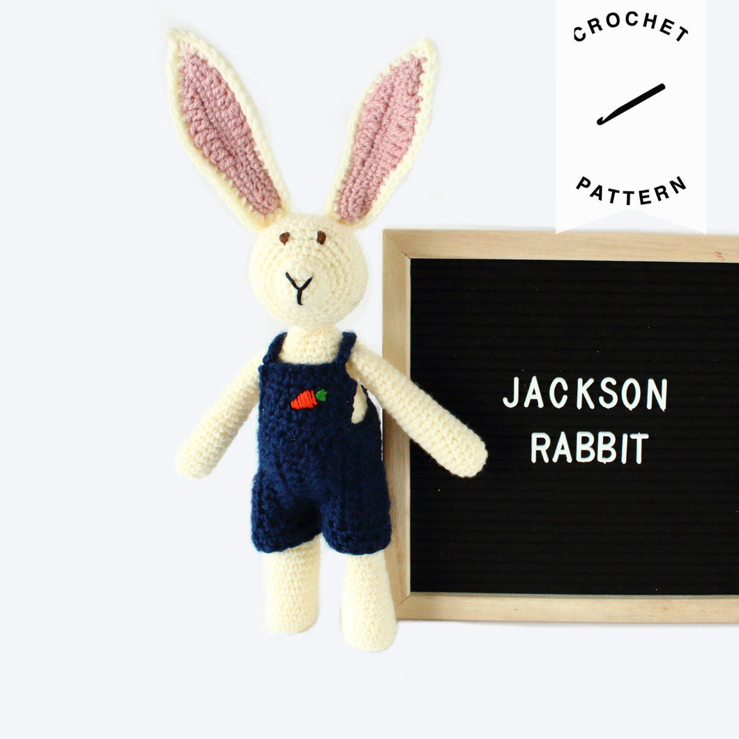 Jackson Rabbit - Crochet Pattern