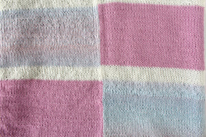 Insiya Baby Blanket - Knitting Pattern