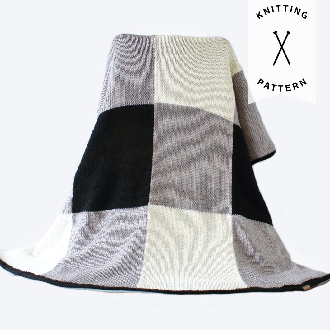 Ammara Throw Blanket - Knitting Pattern