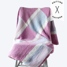 Load image into Gallery viewer, Insiya Baby Blanket - Knitting Pattern