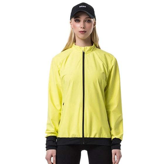 POINT FIXE Running G Lime Yoga Sweat Jacket