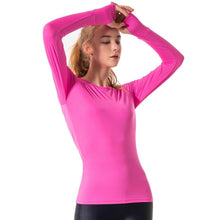 POINT FIXE Sweat Long Sleeve Pink Yoga Sweatshirt