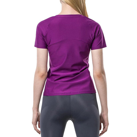 POINT FIXE Sweat Short Sleeve Purple - MUMUSK