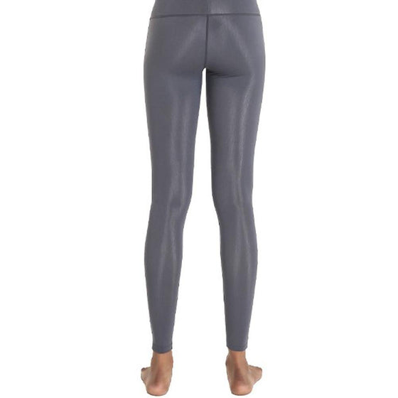 POINT FIXE R Gray Women's Yoga Leggings - MUMUSK