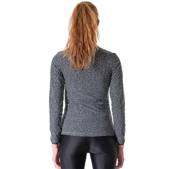 POINT FIXE Tight Pullover Yoga Sweat Jacket Black - MUMUSK