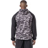 MUMUSK Men Sauna Suit Workout Jacket