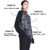 MUMUSK Women Sauna Suit Workout Jacket
