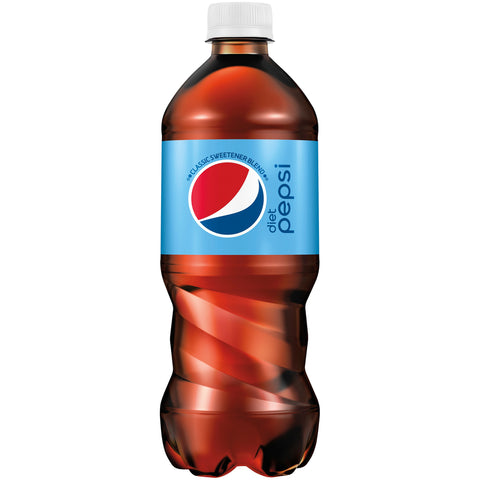 Diet Pepsi-- 20 Oz Bottle - Earth's Basket