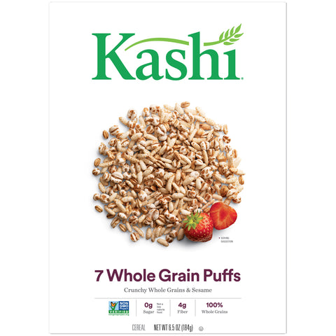 Kashi Organic Cereal -- 7 Whole grain Puffs - Earth's Basket