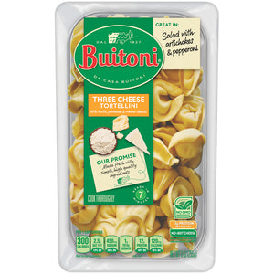 BUITONI Three Cheese Tortellini Refrigerated Pasta 9 oz. - Earth's Basket