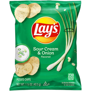 Lays Sour Cream And Onion - Earth's Basket