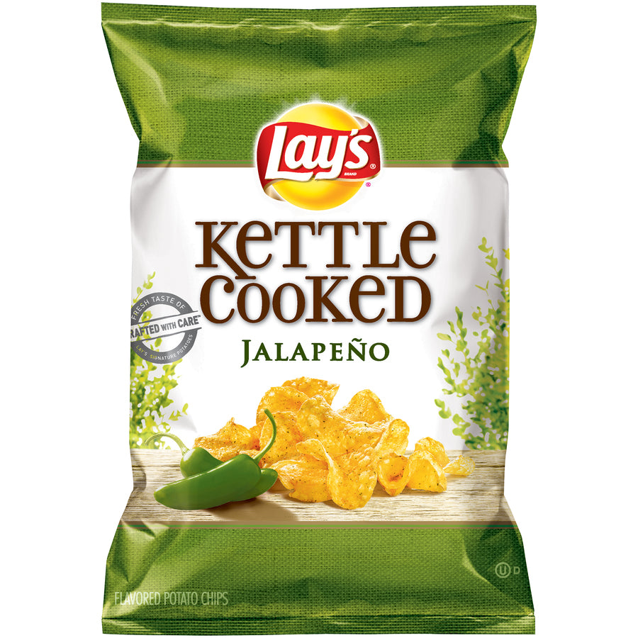 Lays Chips Kettle Cooked Jalapeno - Earth's Basket