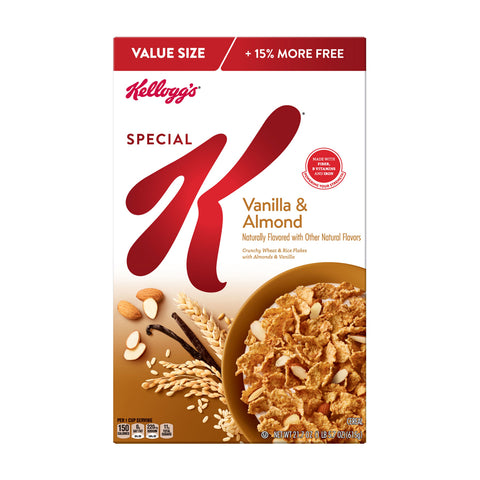Kellog's Cereal -- Special K Vanilla Almond - Earth's Basket