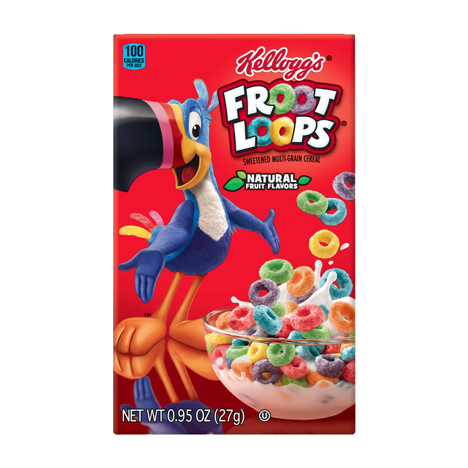 Kellog's Cereal -- Froot Loop - Earth's Basket