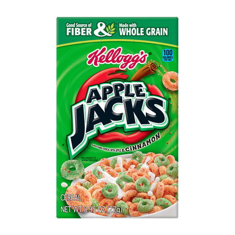 Kellog's Cereal -- Apple Jacks - Earth's Basket