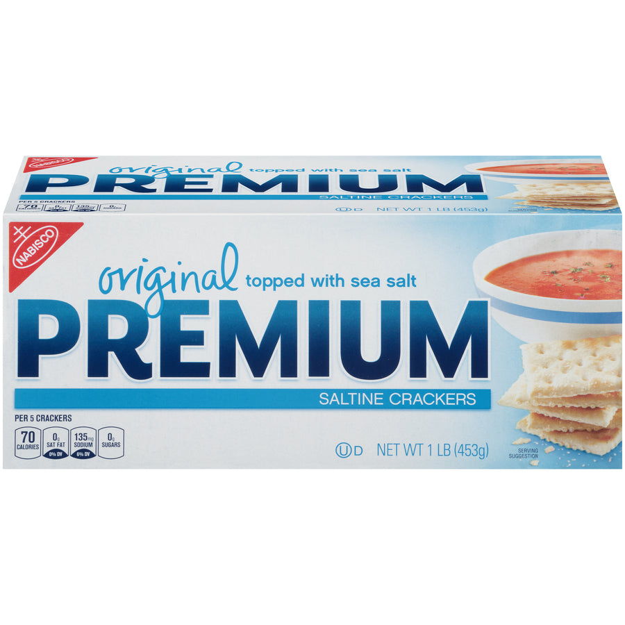 Nabisco Original Premium Saltine Crackers 1 Lb - Earth's Basket