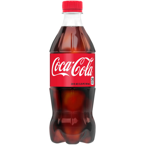 Coca Cola Original-- 20 Oz Bottle - Earth's Basket