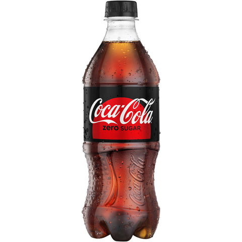 Coke Zero Sugar-- 20 Oz Bottle - Earth's Basket