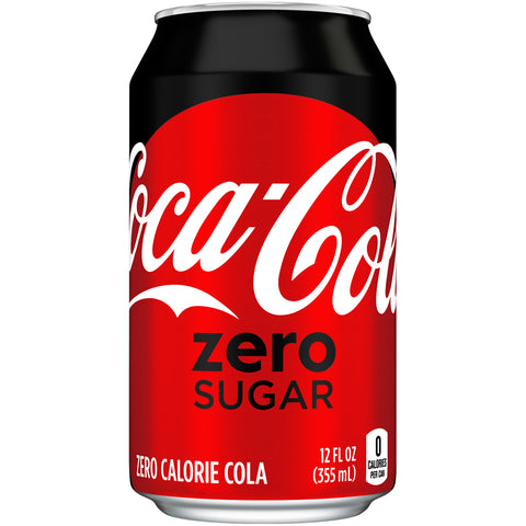 Coke ZERO Sugar 12 Oz Can - Earth's Basket
