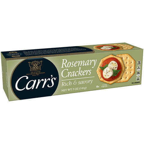 Carr's Crackers -- Rosemary - Earth's Basket