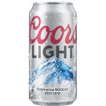 Coors Light 24 Oz Can - Earth's Basket