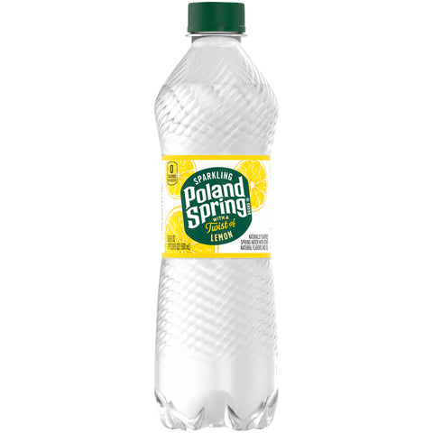 Poland Spring Sparkling Water - 33.8 Oz - Earth's Basket
