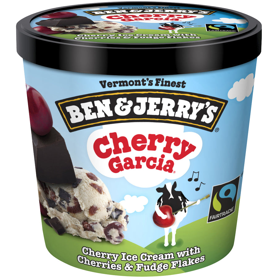 Ben & Jerry's Pint -- Cherry Garcia - Earth's Basket