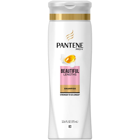 Pantene Pro-V Beautiful Lengths Strengthening Shampoo, 12.6 fl oz