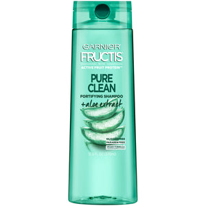Garnier Fructis Pure Clean Fortifying Shampoo, With Aloe and Vitamin E Extract, 12.5 fl. oz.