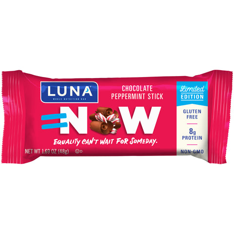 Luna Whole Nutrition Bar -- Chocolate Peppermint Stick - Earth's Basket