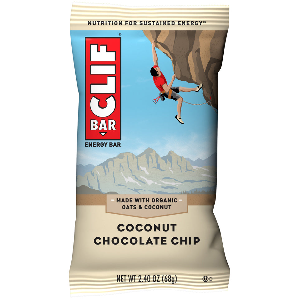 Cliff Bar 2.4 Oz -- 6 Pack -- Coconut Chocolate Chip - Earth's Basket