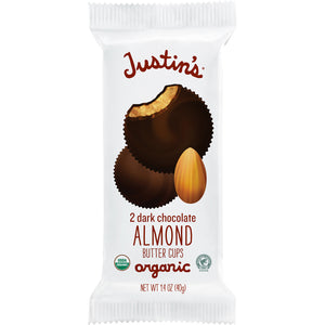 Justin's Organic Cups 1.4 Oz -- Almond Butter Cups - Earth's Basket