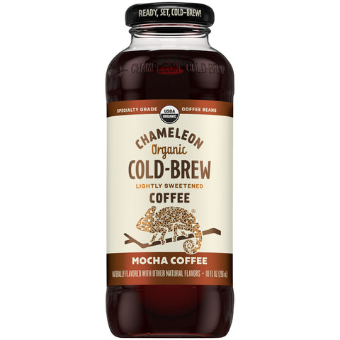 Chameleon Cold Brew Ready-to-Drink Mocha 10oz Bottle - Earth's Basket