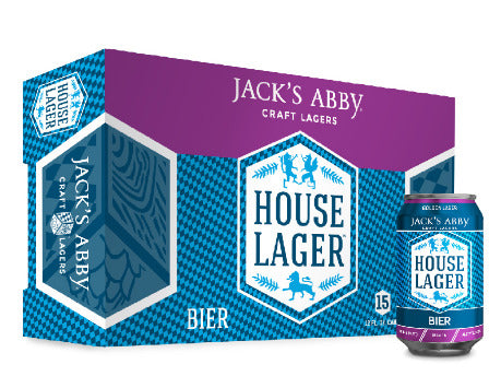 Jack's Abby House Lager 15x 12oz Cans - Earth's Basket
