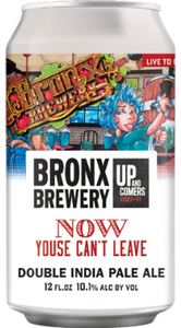 Bronx Brewery Now Youse Can't Leave 4x 16oz Cans - Earth's Basket