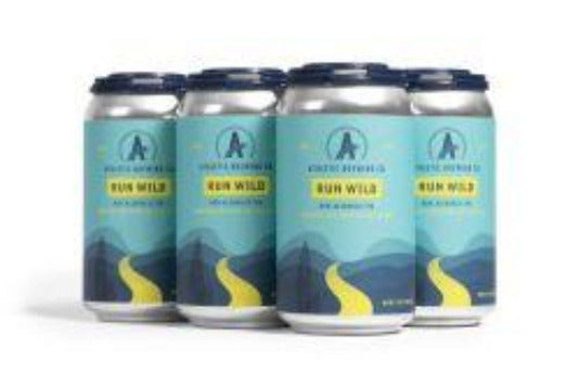 Athletic Brewing Company Run Wild Non-Alcoholic IPA - Earth's Basket