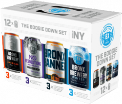 Bronx Brewery Boogie Down Set 12x 12oz Cans - Earth's Basket