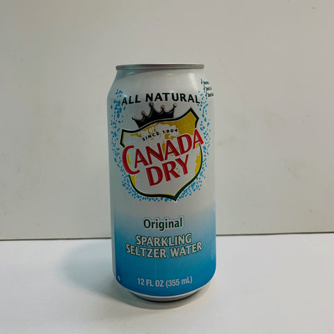 Canada Dry Club Soda 12 Oz Can - Earth's Basket